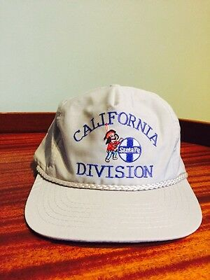 SANTA FE RAILROAD CALIFORNIA DIVISION BASEBALL CAP