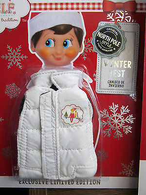 2014 Elf on the Shelf Puffer Vest, New, ELF NOT INCLUDED