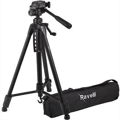 "Ravelli APLT2 50"" Light Weight Aluminum Tripod with Bag (NEW)"