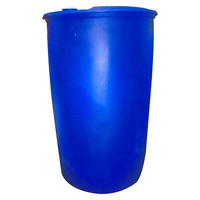 210 Litre Plastic Drum - Perfect for Water Butt/Raft Building - COLLECTION ONLY!