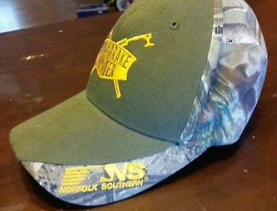 Norfolk Southern railroad camo hunting hat brand new no reserve