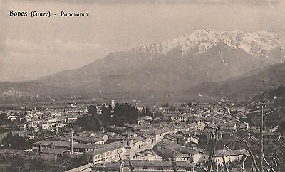 Cpa: Boves / Cuneo/ Panorama/ Italie
