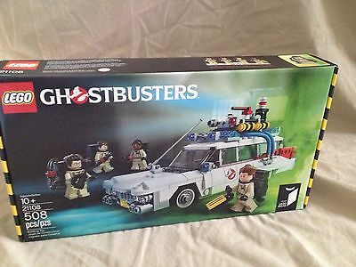 Ghostbusters 30 Year Anniversary Lego #21108 Set New Sealed Minifigures 508 Pcs