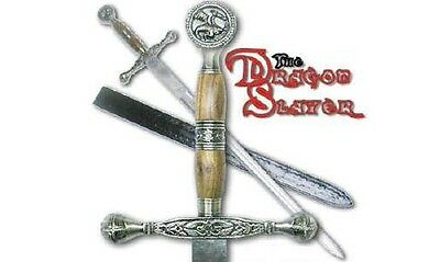 Dragon Slayer Sword with Leather Sheath - New in Box