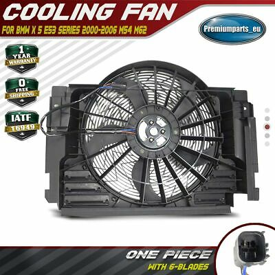 A/C Condenser Fan for BMW E53 X5 2000-2006 3.0L 4.4L 4.6L 4.8L 64546921940