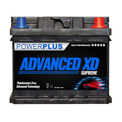 063 XD+ Advanced Extra Duty Car Battery 12v 50ah 540cca 5yr Warranty