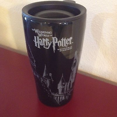 Wizarding World of Harry Potter Hogwarts Castle Coffee Travel Mug Park Exclusive