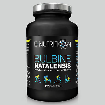 BULBINE NATALENSIS 120 TABLETS 2000mg ANABOLIC TESTOSTERONE BOOSTER E-NUTRITION
