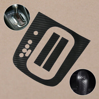For VW Golf MK6 GTI R20 AT Automatic - Carbon Fiber Gear Panel DSG Decal Sticker