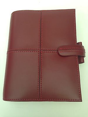 Filofax Pocket Classic Cherry