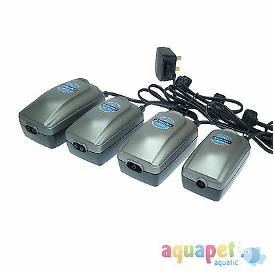 Atman Aquarium Air Pump Single or Double Outlets Various Sizes