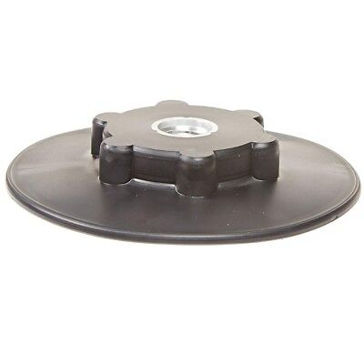 "3M 45190 Disc Pad Face Hub 4-1/2"" Diameter x 5/8-11 Thread Black"