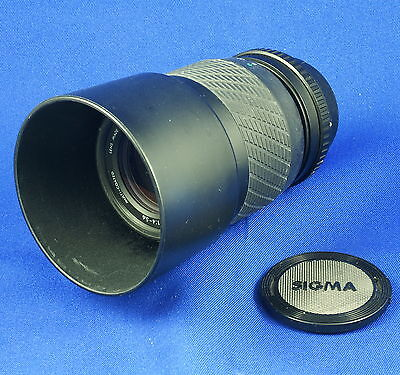 SIGMA UC ZOOM 70-210mm f/4-5.6 FOR P/K (MANUAL FOCUS)    #624-PS