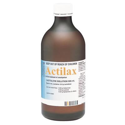 Actilax Lactulose Solution 500Ml For The Treatment Of Constipation