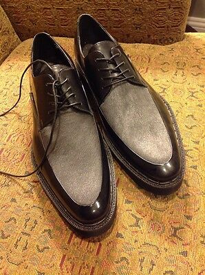 Kenneth Cole Collection Men's Black Leather Shoes Size 8.5