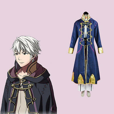 Free Shipping Robin Cosplay Costume Fire Emblem Awakening Anime Costume