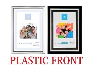 New A4 Certificate Photo Picture Frame Black / Silver Gift - Wholesale