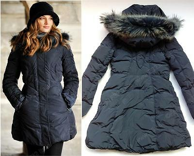 F32 ITALY TOP QUALITY Reversible SUPER WARM SOFT Down JACKET parka Size M