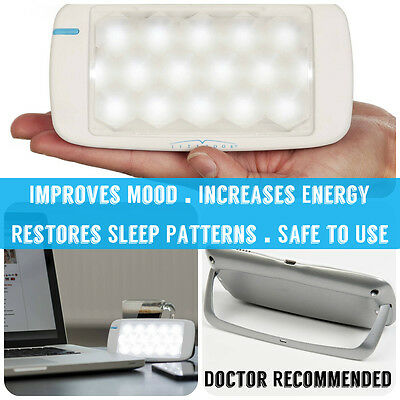 Litebook Edge SAD Light Therapy Lightbox Seasonal Affective Disorder Drug Free
