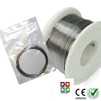 60/40 Tin Lead Solder Wire HQ Flux Multi cored Solder DIY Hobby etc