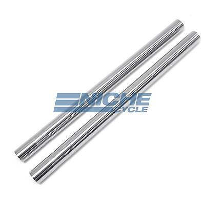 Yamaha RD400 34mm Fork Tubes Stanchions NCS Hard Chrome Stock Length