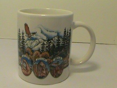 Arches Zion Bryce Utah Officially Licensed 9 oz. Coffee Mug SanSegal Everyware