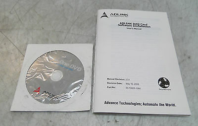 AdLink DAQ Card Software and Installation User's Manual, 50-10005-1080