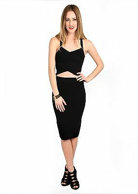 KALA SET (Dress) in BLACK , Available in S, M, L