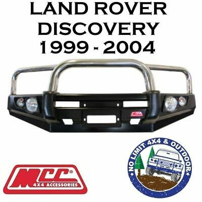 Mcc Steel Bull Bar 3 Hoops S/S Suit Land Rover Discovery 1&2 4X4 Winch Arb Tjm