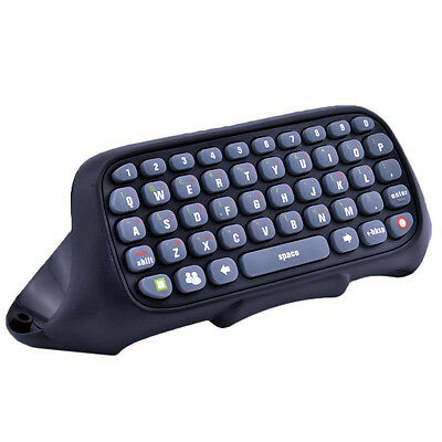 Black Keyboard Keypad Text Messenger Chatpad for Xbox 360 Game Controller