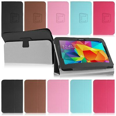 "Universal For 7"" 7.9"" 8"" 9"" 9.7"" 10.1"" inch Tablet  PU Leather Case Cover Stand"