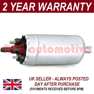 ELECTRIC FUEL PUMP HIGH PERFORMANCE UPGRADE UNIVERSAL PETROL/ DIESEL 15mm INLET
