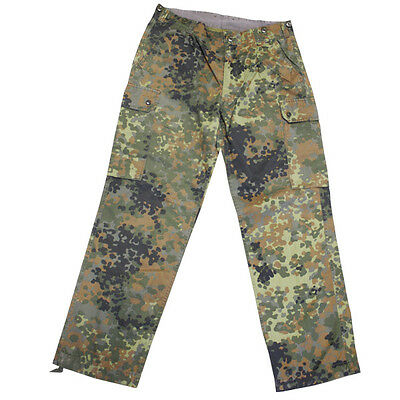 German army BW bundeswehr Flecktarn military issued pants combat trousers