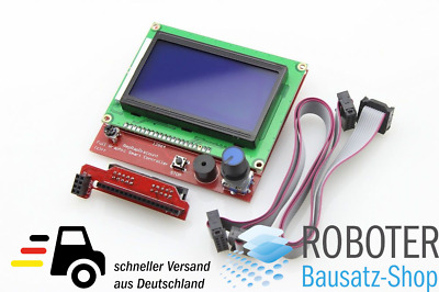 LCD 12864 RepRap Full Graphic Smart Controller für RAMPS 1.4 mit SD Card Reader