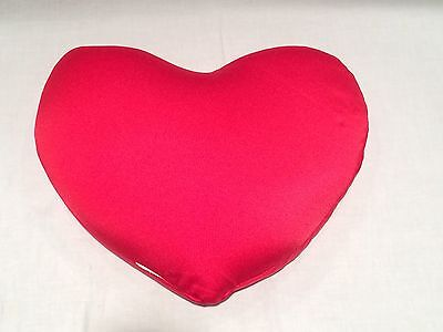 Red Heart Pillow Valentine Holiday Bean Bag Stuffed
