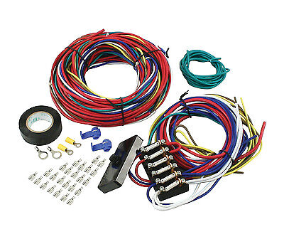 Empi 9466 Universal Wire Harness W/fuse Box