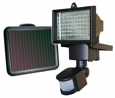 Sunforce 82156 60 LED solar motion light  power of the sun  auto on rechargeable