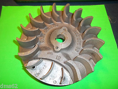 New Briggs Flywheel Assy With Ring Gear Fits 11Hp 12 Cu  Been Mounted