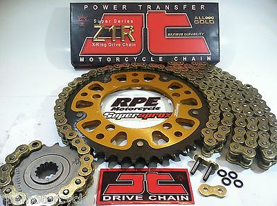 Supersprox Gold 520 Z1R Yamaha Yzf R1 '09-14 Quick Accel Chain And Sprockets Kit