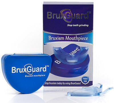 BruxGuard Slimline Version Bruxism Mouthpiece. Stops & Eliminates Teeth Grinding