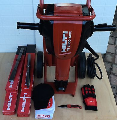 Hilti Te 3000 Avr, Preowned, Strong, W/free Extras,original, Fast Shipping