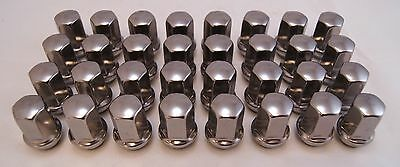 32 Chevy Silverado GMC Sierra 2500 3500 HD Factory OEM Chrome Wheel Lug Nuts