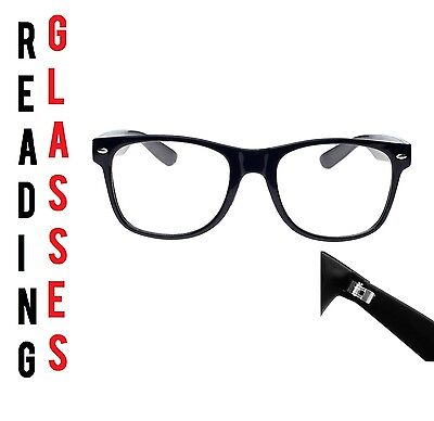 Reading Glasses 1.50 Unisex  Mens Ladies Trendy Designer Spring Geek