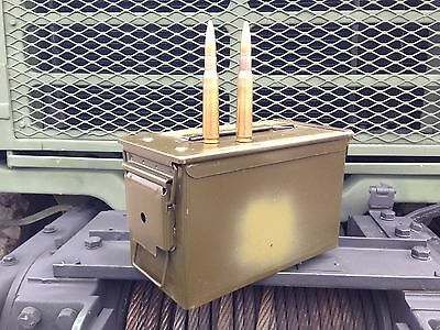 50 Cal M2A1 Ammo Can Box Grade 1 Excellent Condition .50 Free Shipping!