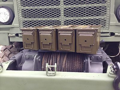 4 Pack! 50 Cal M2A1 Ammo Can Box Grade 1 Excellent Condition .50