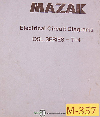 Mazak Electrical Manual