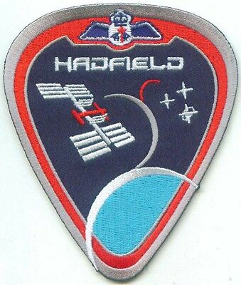 Hadfield Expedition 34/35 Canada Space ISS CSA Patch