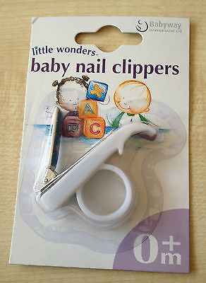 Baby Nail Clippers - Nail Cutter - Safe - White- Uk Product  & Trusted Uk Seller