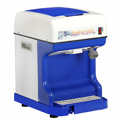Professional Ice Shaver 250W Electric Snow Cone Crusher Maker Machine 264lbs/h