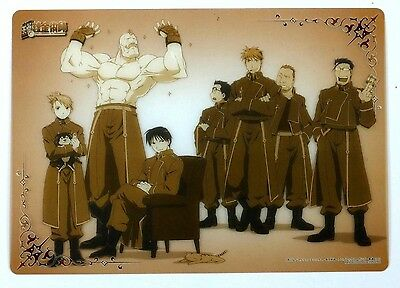 Fullmetal Alchemist Clear Plate Poster mini shitajiki pencil board Japan #9